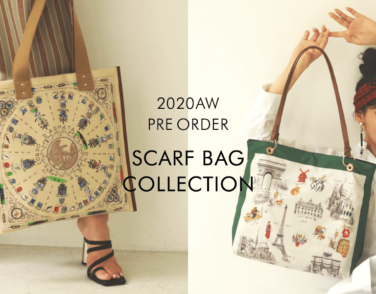 2020AW PRE ORDER SCARF BAG COLLECTION
