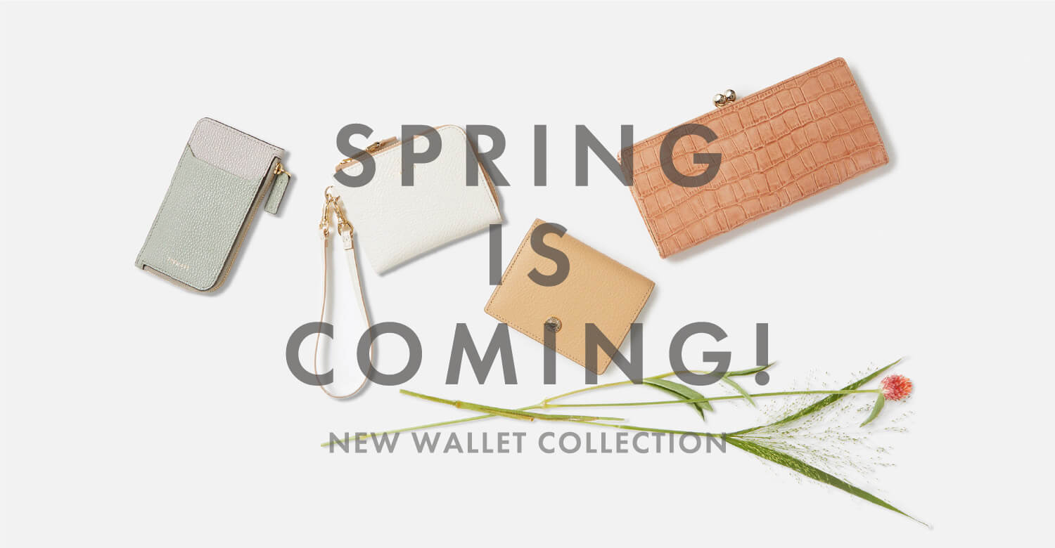 2021 SPRING WALLET COLLECTION